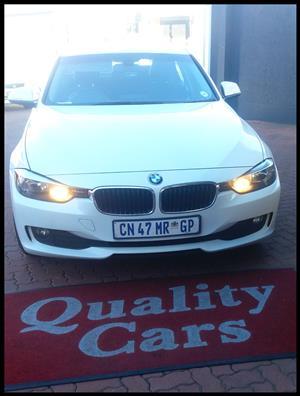 2013 BMW 3 Series sedan 316i auto