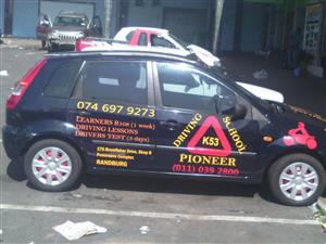 PIONEER DRIVING SCHOOL OFFERS LEARNERS AND LICENCE IN RANDBURG CBD 0110392800