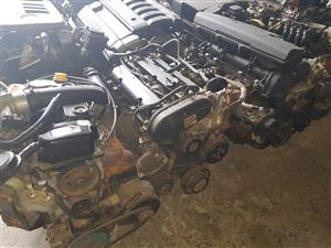 Ford Fiesta Flair 1.4i and Ford Focus Duratec 1.6i engines for sale