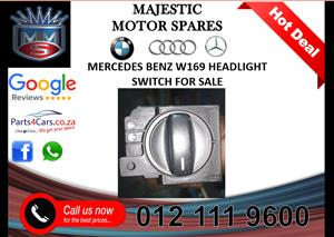 Mercedes benz W169 headlight switch for sale
