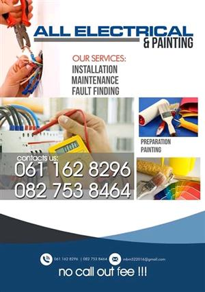 Electrician available 8