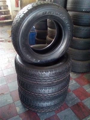 Bridgestone Dueler tyres