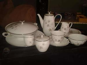 Noritake dinner and coffee set