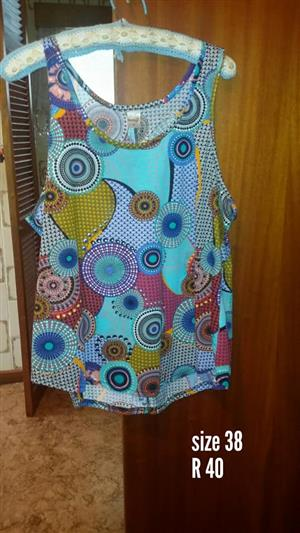 Size 38 top for sale