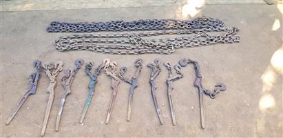Chain grabs, chains & Cargo net
