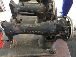Vintage Singer sewing machines