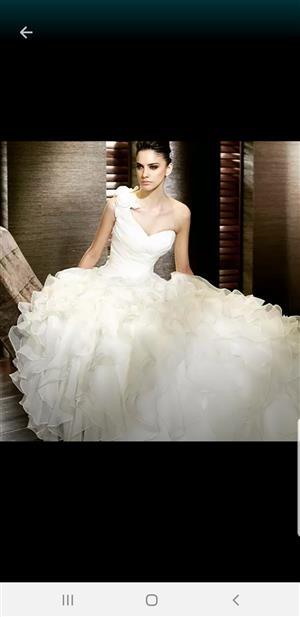 St Patrick's Wedding dress