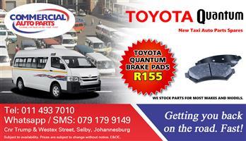 Brake Pads For Toyota Quantum Sesfikile For Sale.