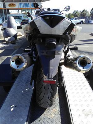 Kawasaki ZX 1400  stripping