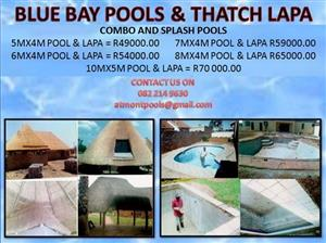 BLUE BAY POOL AND THATCH LAPA
