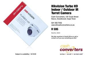 Hikvision Turbo HD Indoor / Outdoor IR Turret Camera