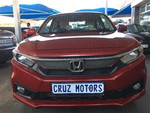 2018 Honda Amaze sedan AMAZE 1.2 COMFORT CVT