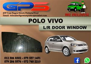 VW Polo Vivo L/R Door Window Used Part for Sale