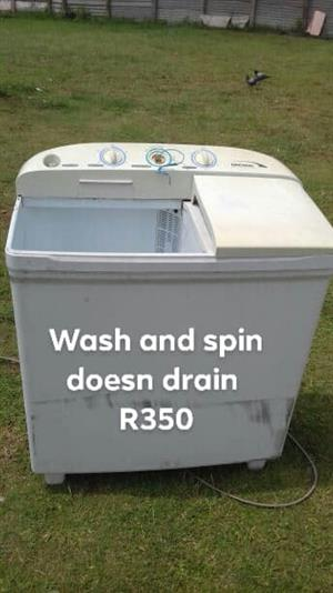 Toploader washing machine for sale
