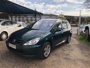 2003 Peugeot 307 1.6 estate XR