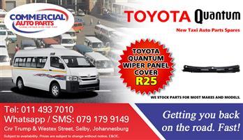 Wiper Panel For Toyota Quantum Sesfikile For Sale.