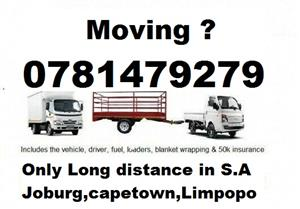 Online furniture removals quote in Pretoria
