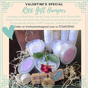 Valentine's Day gift Natural Aromatherapy Bath Products