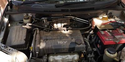 CHEV AVEO SEDAN ENGINE FOR SALE.