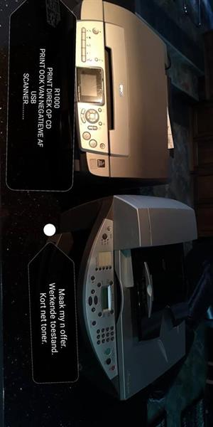 2 Printers te koop