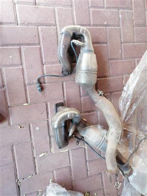 Bmw exhaust catalytic converter