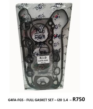 *FULL GASKET SET* G4FA-FGS - I20 1.4*