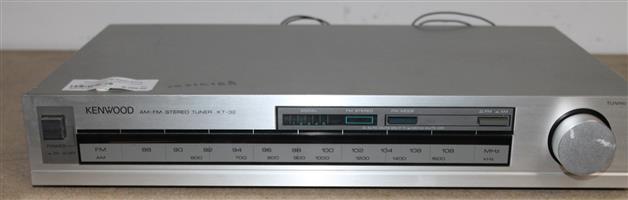 Kenwood FM stereo tuner S031618A #Rosettenvillepawnshop