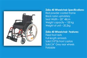 Zidia-40 Wheelchair