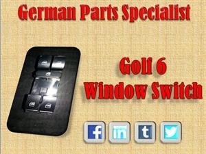 Golf 6 Window Switch NEW!!!