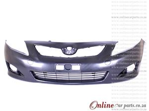 Toyota Corolla Plain Front Bumper And Bumper Grille 2007-2009
