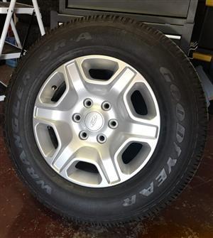 """4x17""""Rims Ford Ranger"""