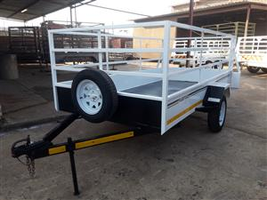 3M SINGLE AXLE UYILITY TRAILER 13'' TYRES UNBRAKED, VERY STRONG AND RELIABLE