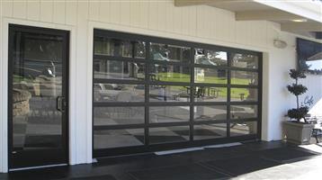 Glass garage door for sale