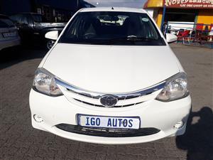 2014 Toyota Etios hatch ETIOS 1.5 Xs/SPRINT 5Dr