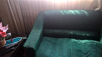 Three piece sofa set (3 seater+2seater+single seater) - R1500 negotiable