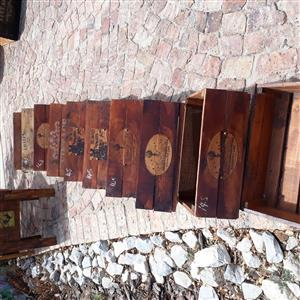 Assortment of planter boxes for sale