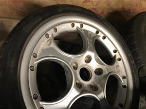 """Original Lamborghini murcielago 18"""" Rims"""