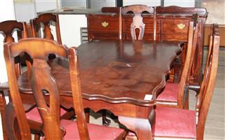 S034524A 8 Piece dining room suite #Rosettenvillepawnshop