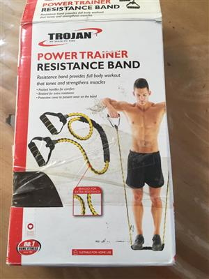 TROJAN Power Trainer Resistance Band - priced to clear