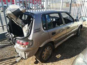 Toyota Tazz 160i 1998 Breaking for spares
