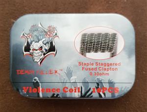 Demon killer fuse clapton coils 10 pieces