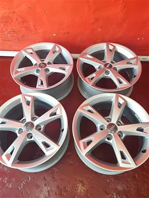AUDI 17INCH A4 MAG RIMS FOR SALE