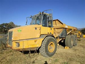 Bell B25D Articulated Dump Truck- ON AUCTION