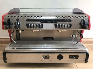 la spaziale s5 red 2 group Espresso machine for sale