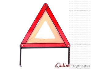 Foldable Emergency Warning Triangle with Protective Plastic Casing