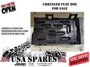 CHRYSLER FUZE BOX FOR SALE