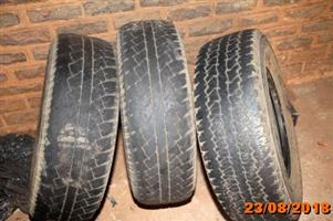 Tyres for sale for Isuzu KB 280 245/70/16