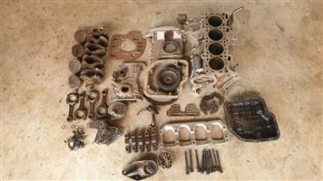 Nissan SR20DE sub assembly.