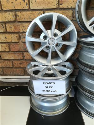 PICANTO 5J 13inch MAGS
