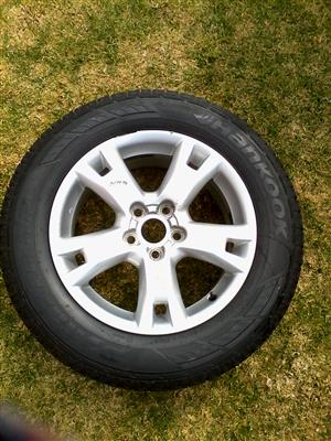 Used 17 inch mag with tyre
